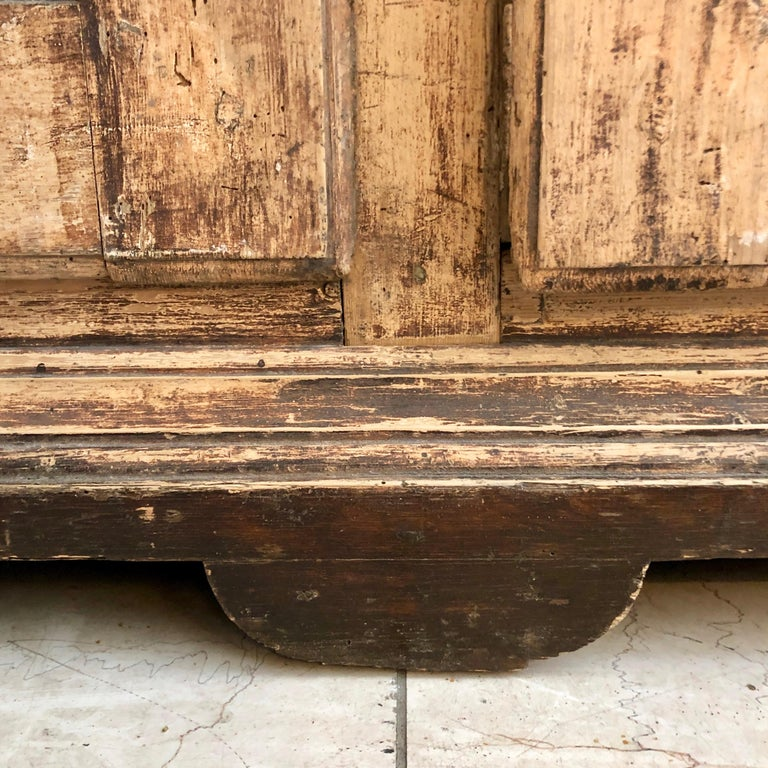 Large 19th Century Italian Cabinet For Sale 5