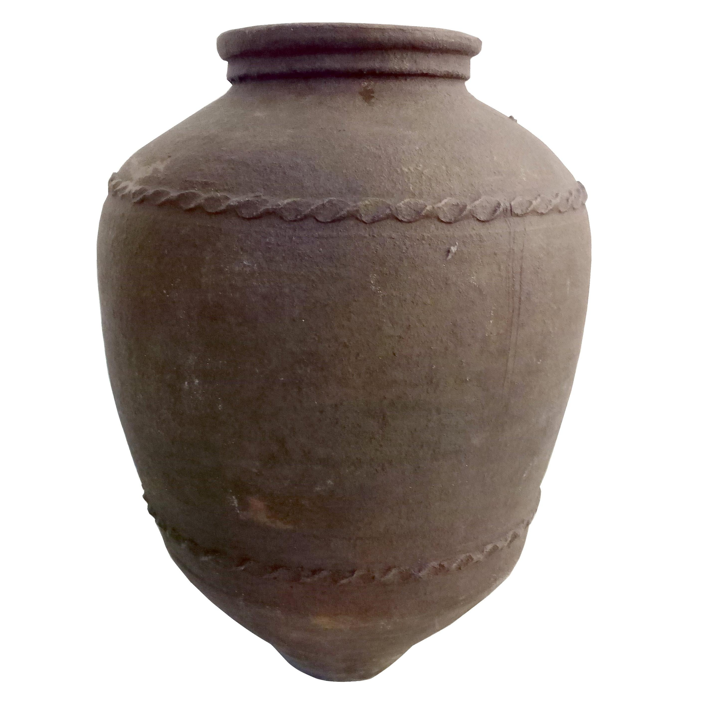 Large 19th Century Italian Terracotta Jar