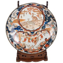 Large 19th Century Japanese Imari Charger