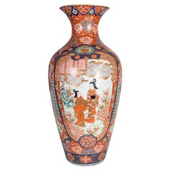Large 19th Century Japanese Imari Vase