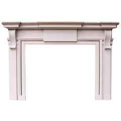 Large 19th Century Neoclassical Style Fire Surround