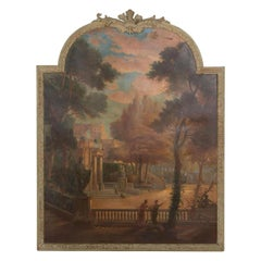 Large 19th Century Oil on Canvas