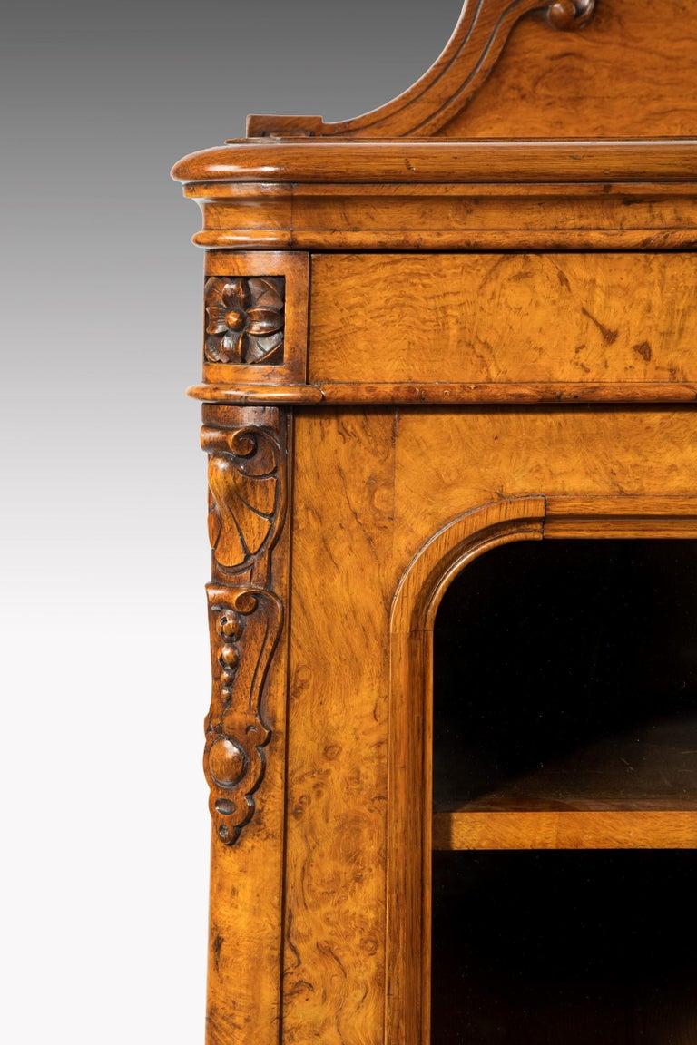 Large 19th Century Victorian Pollard Oak Three-Door Bookcase 6
