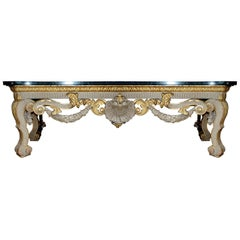 Large 19th Century William Kent Style Console Table