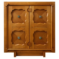 Large 2-Door Cabinet by Guillerme & Chambron