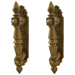 Large 20th Century Door Handles