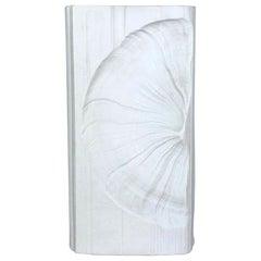 Large OP Art Vase Porcelain German Vase by Martin Freyer for Rosenthal