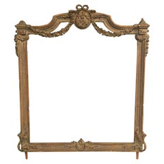 Large 5' Foot Baroque Style Picture Fine Art Picture Frame