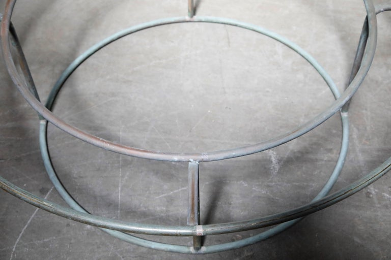 Large Copper Coffee Table by Walter Lamb for Brown Jordan For Sale 8