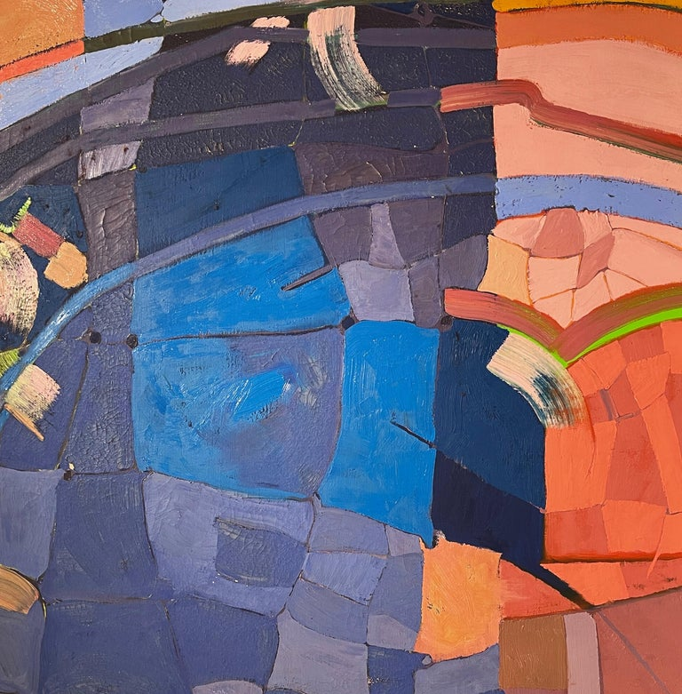 Australian Monumental Abstract Contemporary Oil on Linen Painting by Martorana, Australia For Sale
