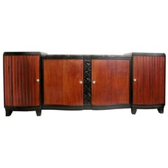 Large 8 feet  French Buffet by JOUBERT & PETIT   for   D.I.M
