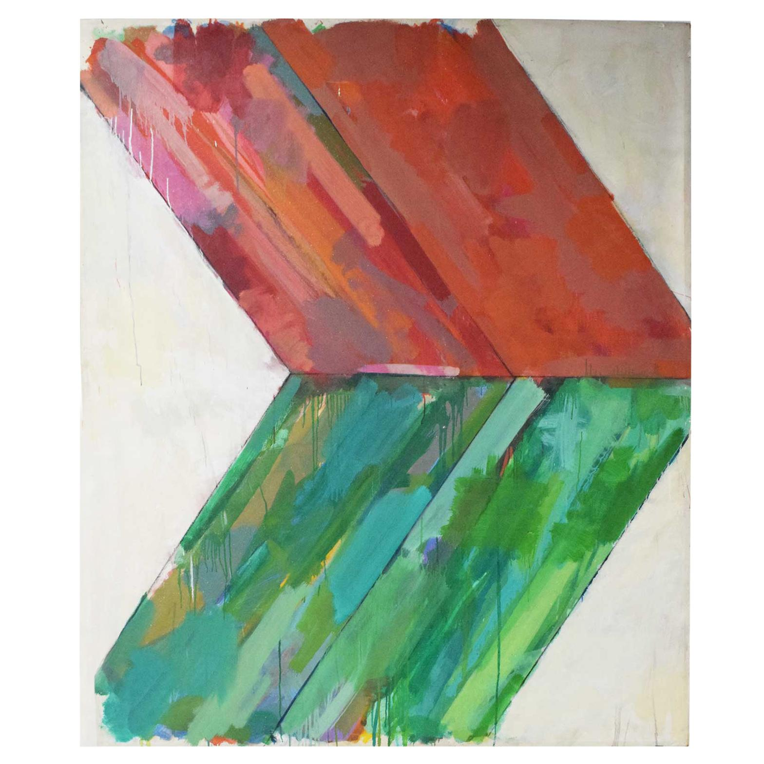 Large Abstract by John Simpson, Dated 1964