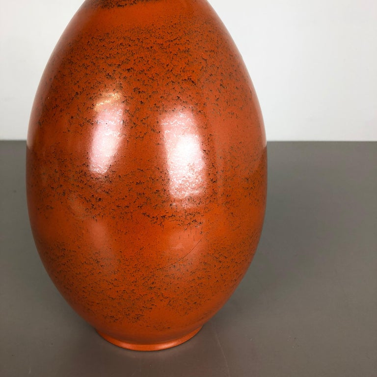 Large Abstract Ceramic Pottery Vase by Dümmler and Breiden, Germany, 1950s For Sale 6