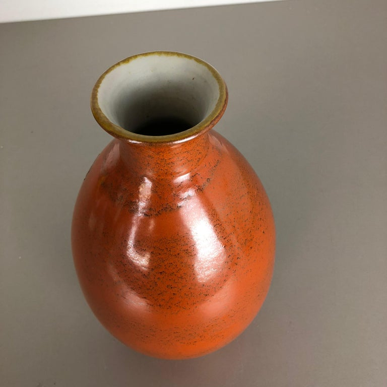 Large Abstract Ceramic Pottery Vase by Dümmler and Breiden, Germany, 1950s For Sale 9