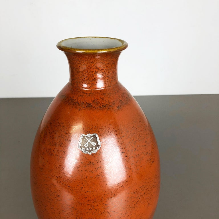 Large Abstract Ceramic Pottery Vase by Dümmler and Breiden, Germany, 1950s In Good Condition For Sale In Kirchlengern, DE