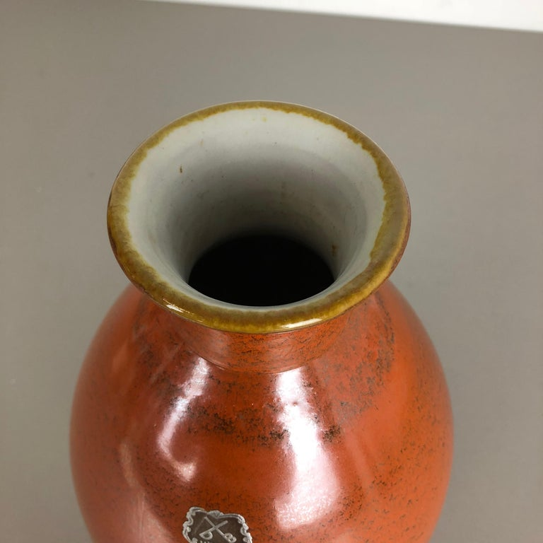 Large Abstract Ceramic Pottery Vase by Dümmler and Breiden, Germany, 1950s For Sale 3