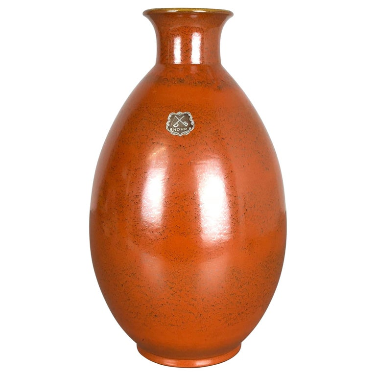 Large Abstract Ceramic Pottery Vase by Dümmler and Breiden, Germany, 1950s For Sale