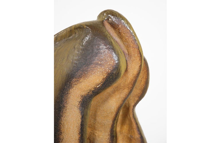 Large Abstract Glazed Ceramic Sculpture For Sale 1