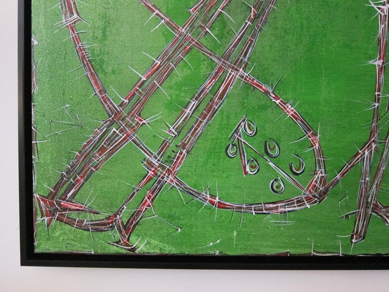 Large Abstract Oil Painting, Alexander Gore In Excellent Condition For Sale In Miami, FL