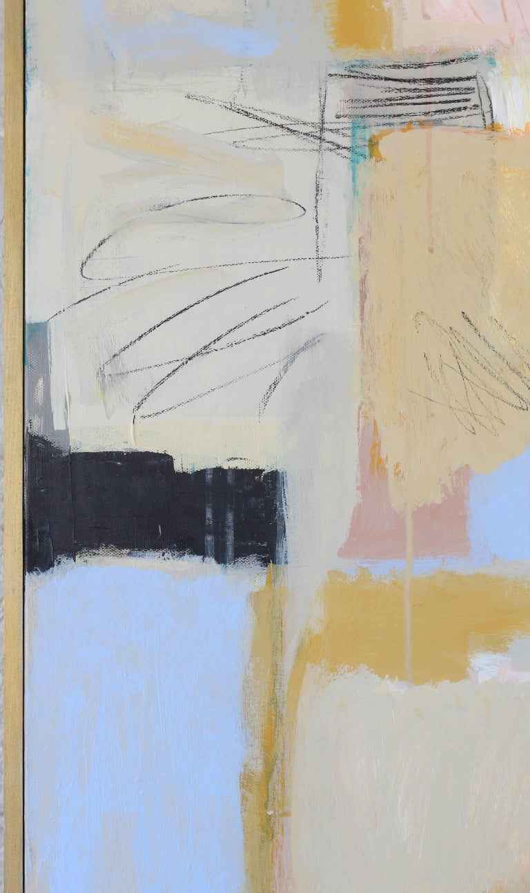 Large Abstract Painting by Claiborne Riley  In Excellent Condition For Sale In Kilmarnock, VA