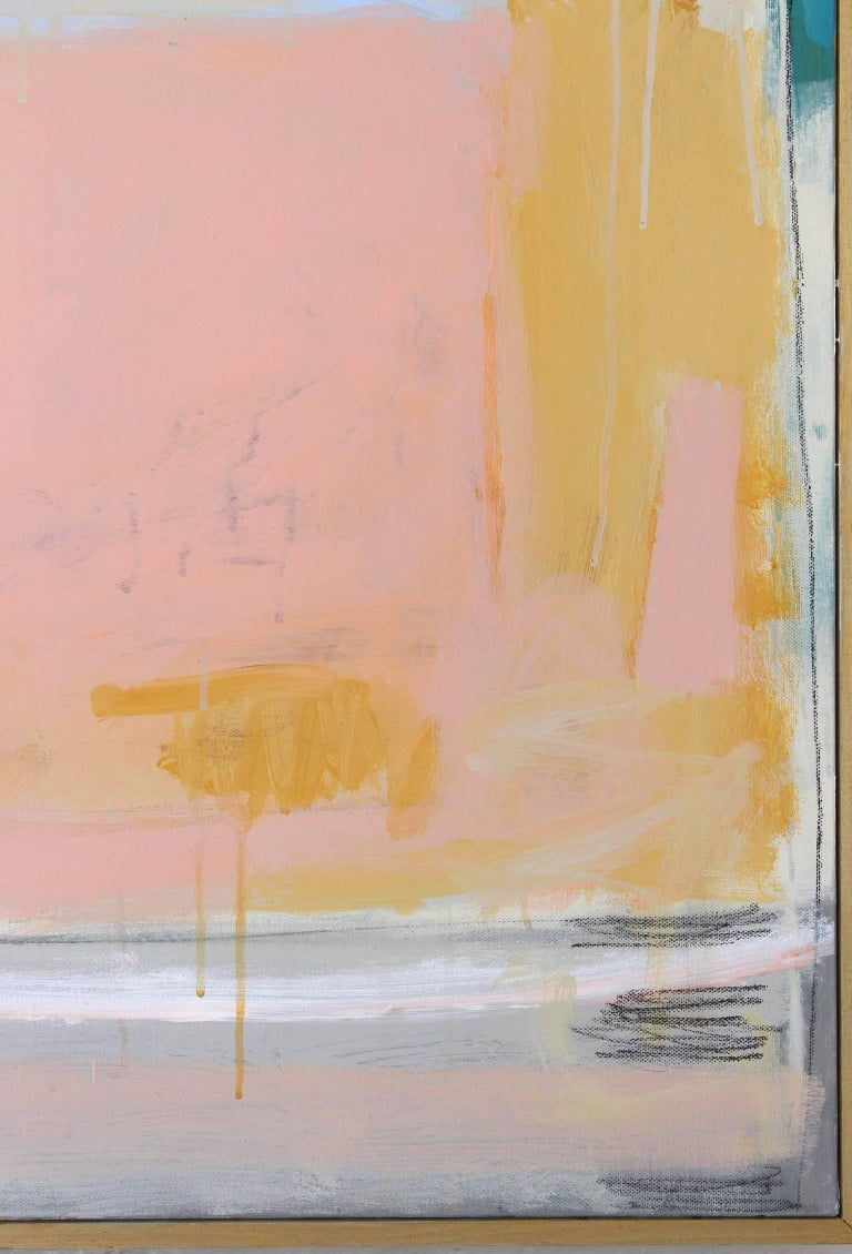 Large Abstract Painting by Claiborne Riley  For Sale 1