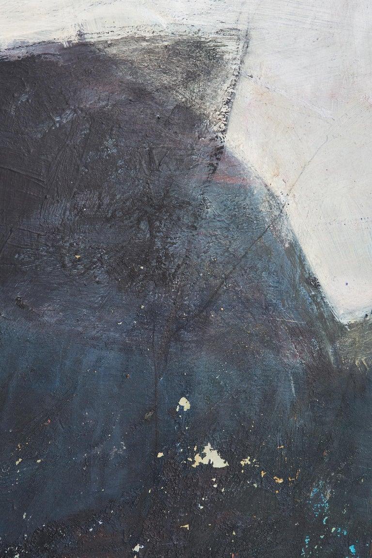 Swedish Large Abstract Painting by Kari Mjåtveit For Sale