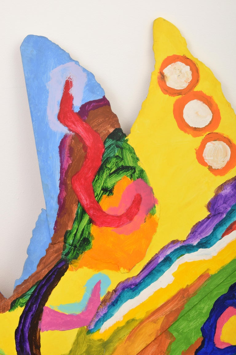 Modern Large Alexander Liberman Painting For Sale