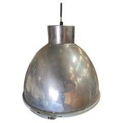 Large Aluminum Industrial Pendant Light Fixture