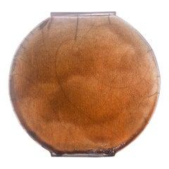 Large Amber Vase
