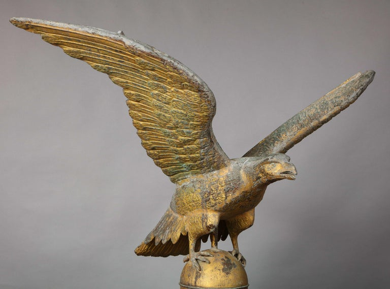 Large American Eagle Weathervane For Sale 3