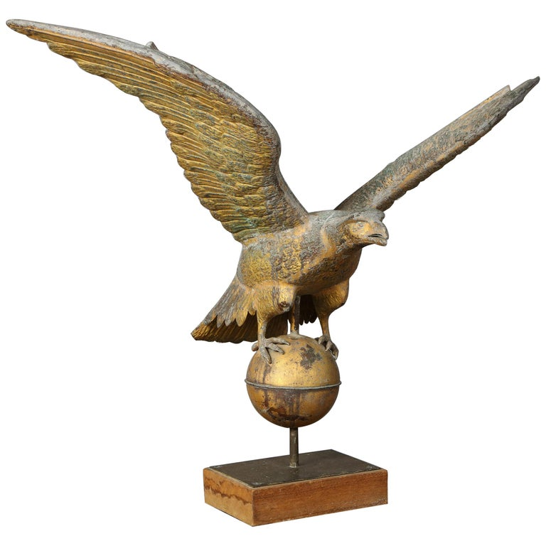 Large American Eagle Weathervane For Sale