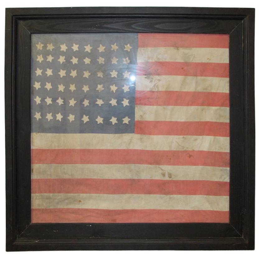 Large American Flag World War II Box