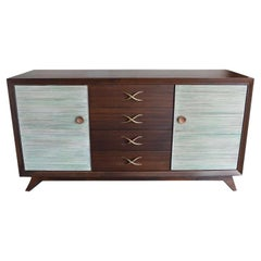 Large American Mid Century Commode by Paul Frankl, 1950s