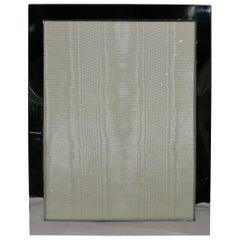 Large American Modern Handmade Sterling Silver Picture Frame