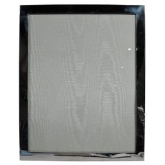 Large American Modern Sterling Silver Picture Frame