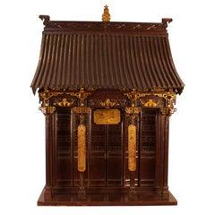 Large Ancestral Shrine, China, circa 1880