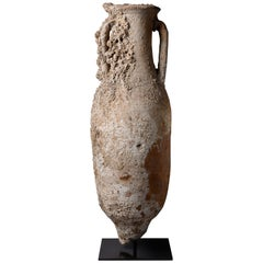 Large Ancient Roman Shipwreck Salvaged Amphora, 100 AD