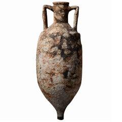 Large Ancient Roman Shipwreck Salvaged Amphora, 100 AD