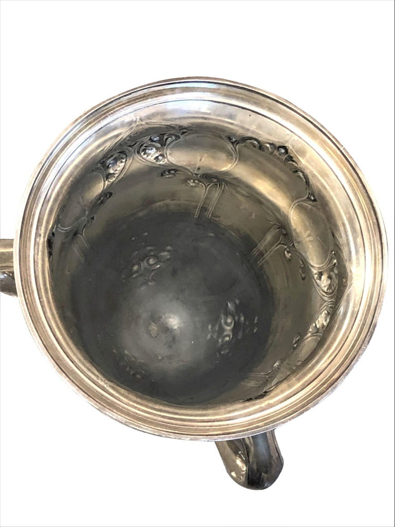 Large and Historically important Gorham Sterling 1905 Automobile Race Trophy Cup 4