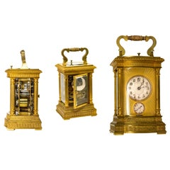 Large and Impressive 1890s Vacheron Constantin Museum Repeating Carriage Clock