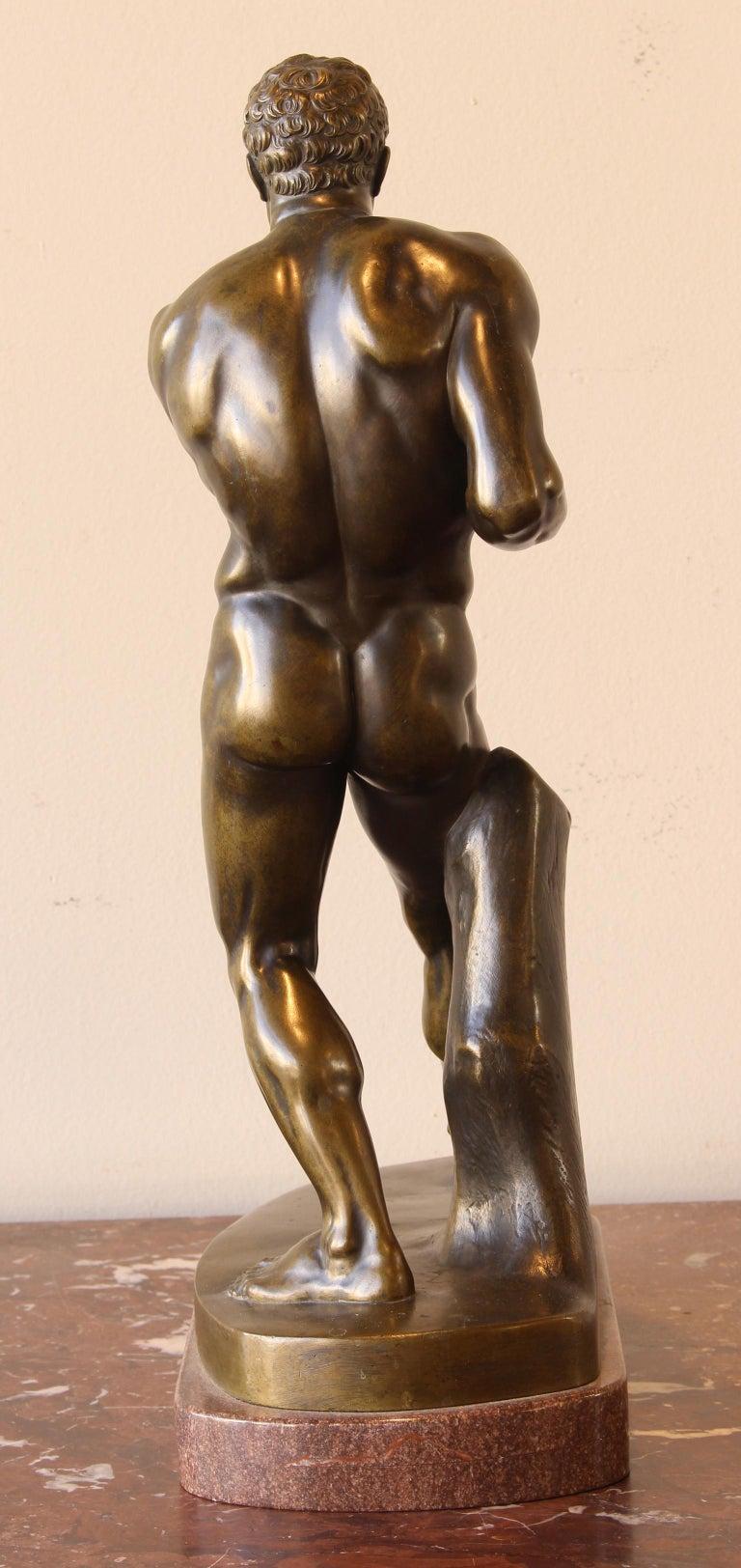 Large and Impressive Mid-19th Century Italian School Bronze Sculpture In Excellent Condition For Sale In Kilmarnock, VA