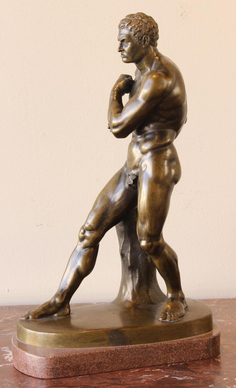 Large and Impressive Mid-19th Century Italian School Bronze Sculpture For Sale 1