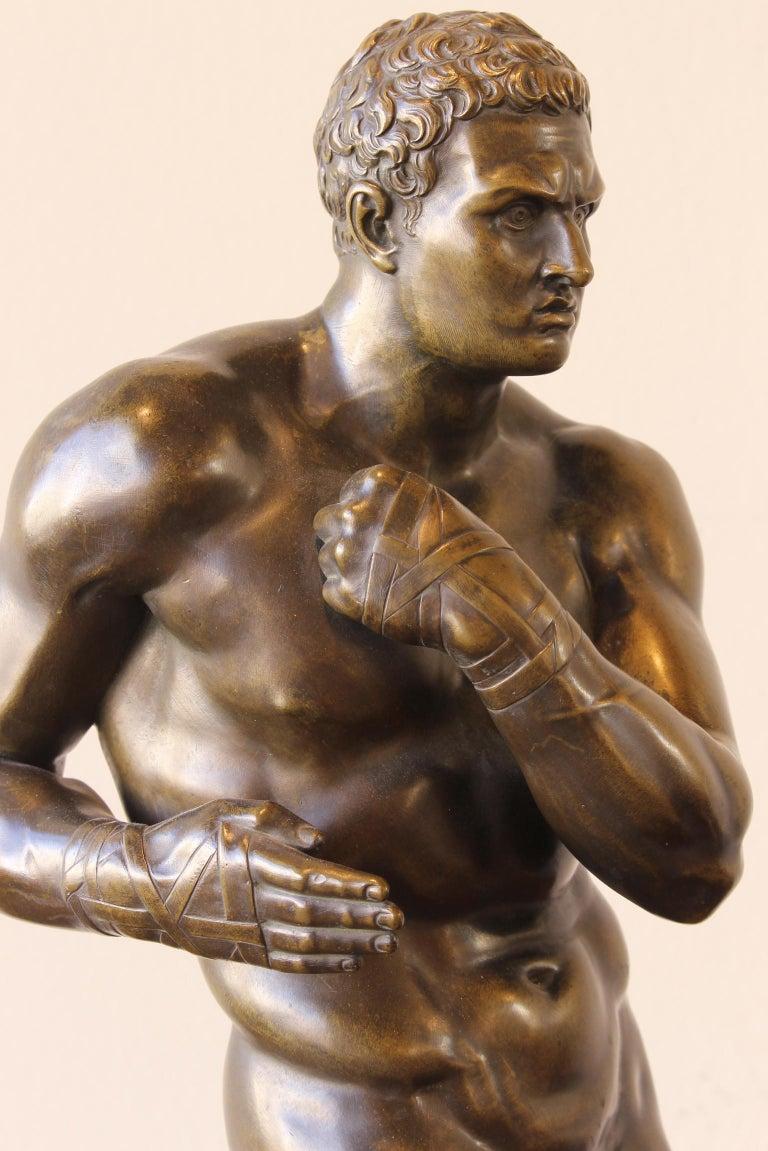Large and Impressive Mid-19th Century Italian School Bronze Sculpture For Sale 2