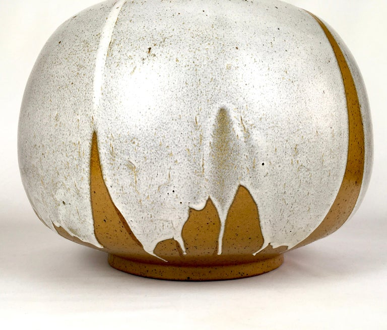 Large and Monumental Midcentury David Cressey Pottery Ceramic Lamp For Sale 3