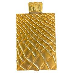 Large and Rare Gilt Bronze Box Line Vautrin