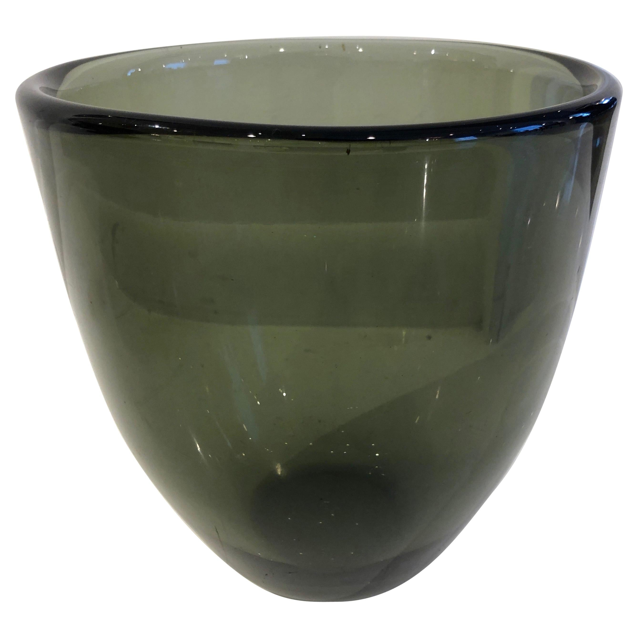 "Large and Unique ""Expo"" Vase by Sven Palmqvist for Orrefors"