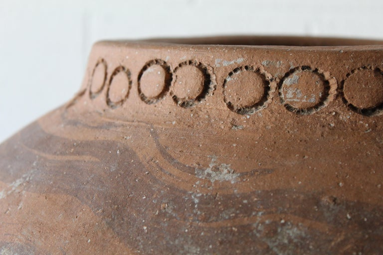Spanish Large Andalusian Terracotta Jar For Sale