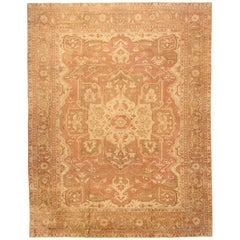 Large Antique Amritsar Rug. Size: 14 ft 5 in x 18 ft 8 in (4.39 m x 5.69 m)