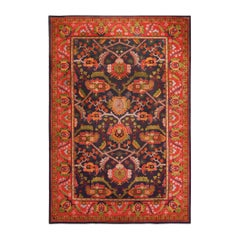 "Large Antique Art & Craft Rug by Gavin Morton. Size: 11' 3"" x 17'"