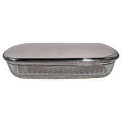 Neoclassical Revival Serveware, Ceramics, Silver and Glass